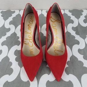 Red Sam Edelman heels